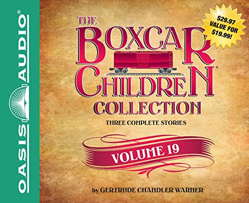 The Boxcar Children Collection Volume 19 (Library Edition): The Mystery of the Secret Message, The Firehouse Mystery, The Mystery in San Francisco