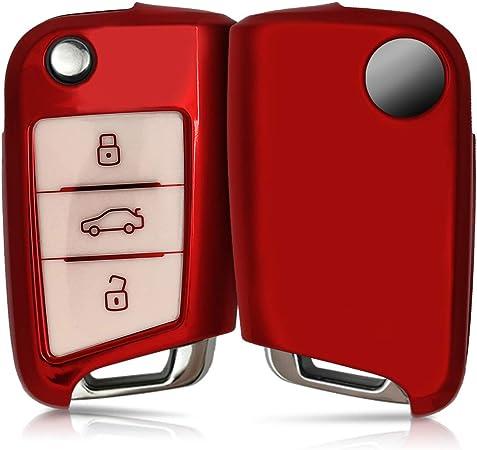 Kwmobile Autoschlüssel Hülle Kompatibel Mit Vw Golf 7 Elektronik