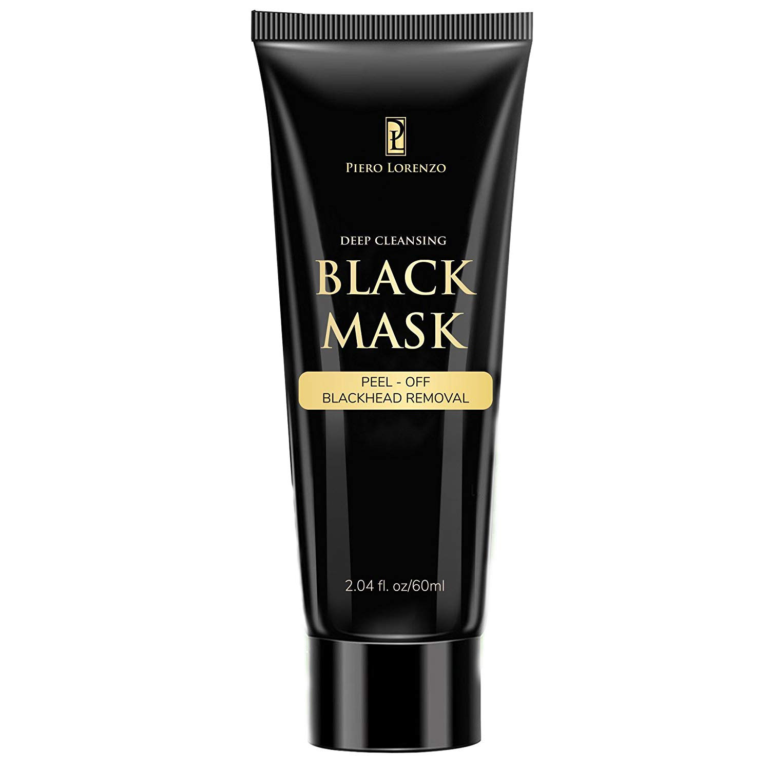 Blackhead Remover Black Mask Cleaner - Purifying Quality Mask Best Mud Facial Mask Bamboo Charcoal Deep Cleansing Purifying Acne Blackhead Peel-off Mask 60g LTD