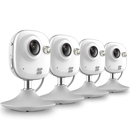 Amazon com : EZVIZ Mini HD 720p WiFi Home Security Camera with