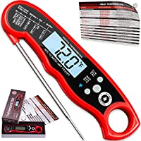 Instant Read Meat Thermometer For Grill And Cooking....