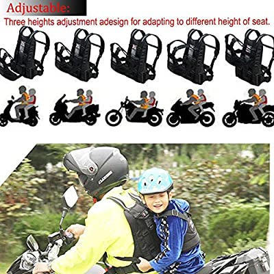Arnés De Seguridad Niño para Moto con Asas Material Reflectante ...
