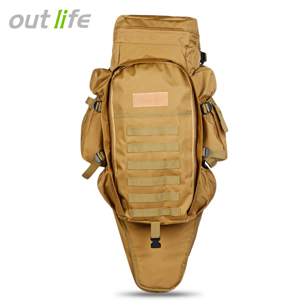 60L USMC t/áctico militar del ej/ército mochila de senderismo al aire libre Camping Caza Rifle Bolsa Mochila escalada bolsas mochila de viaje