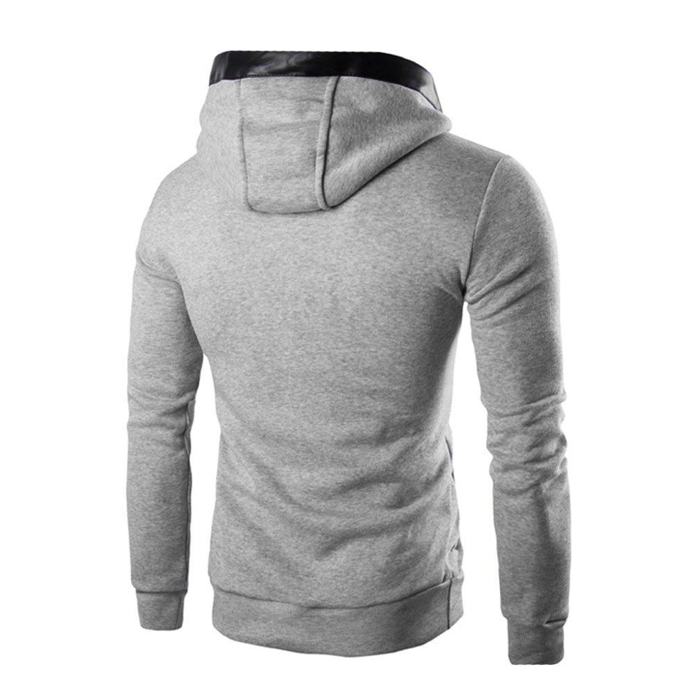 ♚ Sudadera con Capucha Hombre Invierno Impresión Sudadera con Capucha Delgada Abrigo cálido Abrigo Outwear Tops Absolute: Amazon.es: Ropa y accesorios