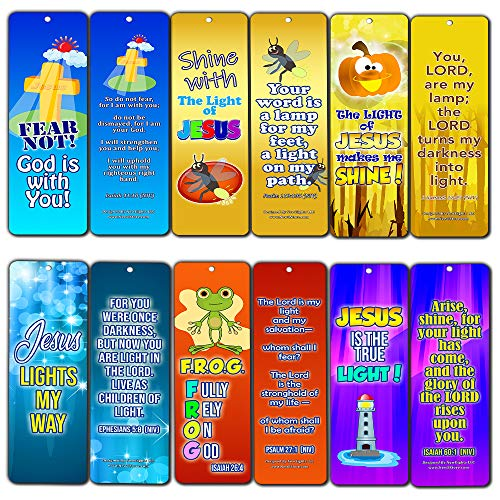 Shine for Jesus Bookmarks (30-Pack) -