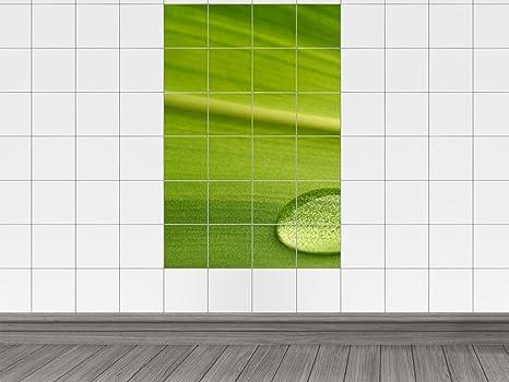Piastrelle cucina verde acqua rivestimento cucina for Adesivi mattonelle