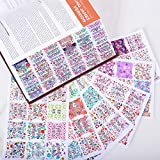 Floral Bible Tabs Laminated with Matte Film, Large
