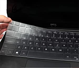"Keyboard Cover for 2018 Dell Inspiron 13 5000 Series 5368 5378 5379; 13.3"" Dell Inspiron 7000 Series 7368 7378; 15.6 Dell Inspiron 15 5000 7000 Series i5568 i5578 7573 7569 7579 (No Numeric Keypad)"