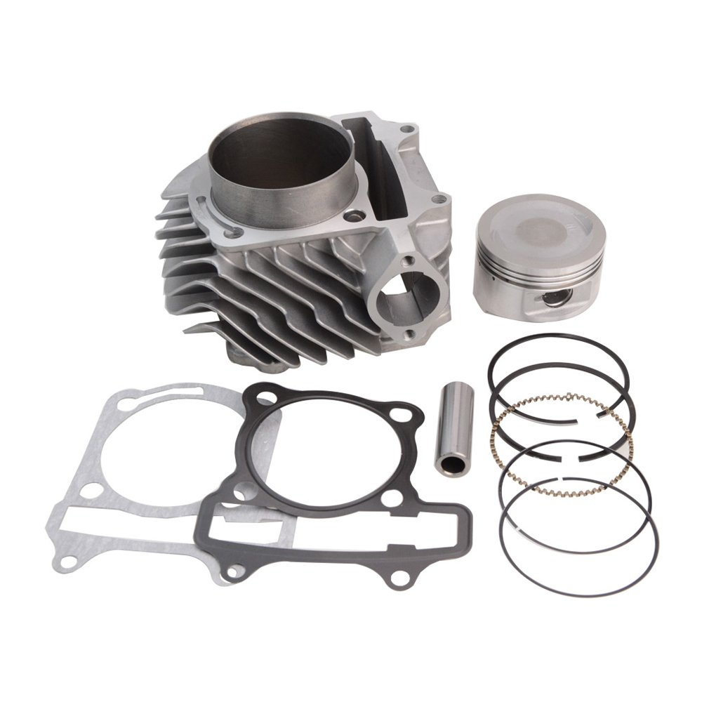 GOOFIT 63mm Big Bore Cylinder Piston Kit for 4-Stroke GY6 180cc Engines ATV Scooter Go Kart by GOOFIT