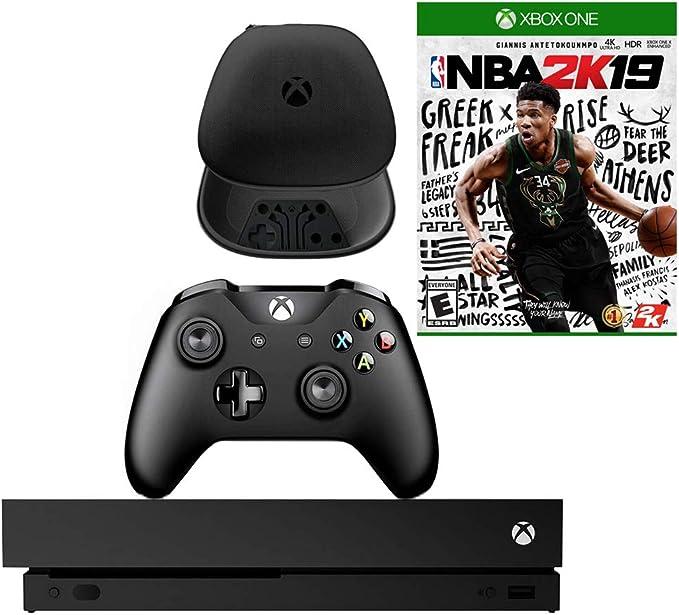 Microsoft Xbox One X 1TB Consola con NBA 2K19 y Paquete de Carcasa ...