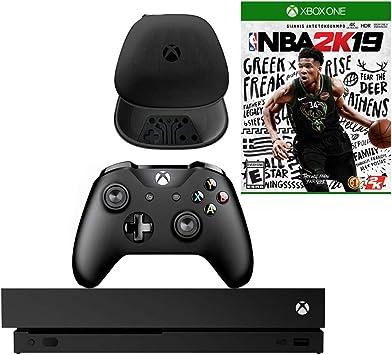 Microsoft Xbox One X 1TB Consola con NBA 2K19 y Paquete de Carcasa de Controlador Suave (enchapado): Amazon.es: Electrónica