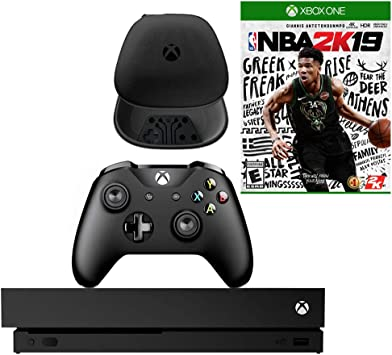 Microsoft Xbox One X 1TB Consola con NBA 2K19 y Paquete de ...