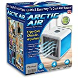 Amazon Price History for:Arctic Air Personal Space Cooler, Portable Air Conditioner, Humidifier and Purifier, Desktop Cooling Fan with 3 Speeds and 7 Colors LED Night Light for Office Home Outdoor Travel | As Seen On TV