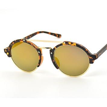 WKAIJC Halbkreis Box Einfach Personalisiert Modisch Stilvoll Bequem Straße Schießen Sonnenbrillen,E