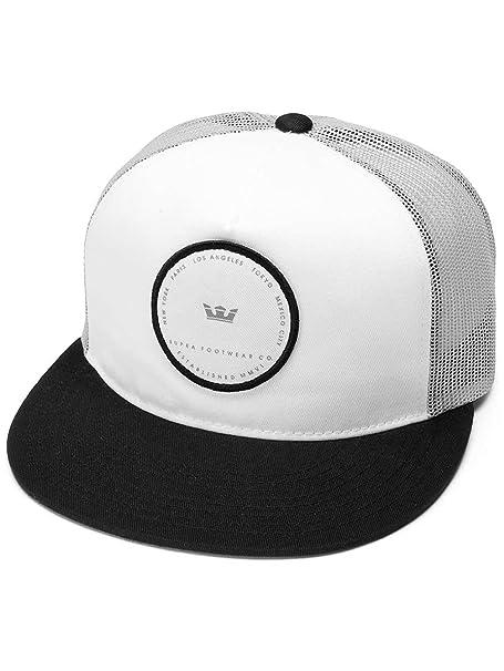 Supra - Gorra de béisbol - para hombre negro/blanco Talla única ...