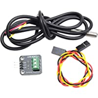 Blesiya DS18B20 Waterproof Digital Temperature Temp Sensor Module Kit for Raspberry Pi/Arduino Electronic Building Block ( -50 ° C - +125 ° C)
