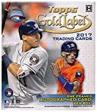 2017 Topps Gold Label Baseball Factory Sealed HOBBY Box with Framed Autograph Card & 4 Parallels! Look for Rookies & Autographs of Aaron Judge, Cody Bellinger, Andrew Benintendi & Many More! WOWZZER!