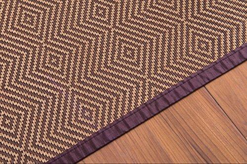 Woven Bamboo Area Rug 8x11 Feet (95