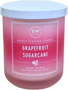 DW Home Grapefruit Sugarcane Scented Candle