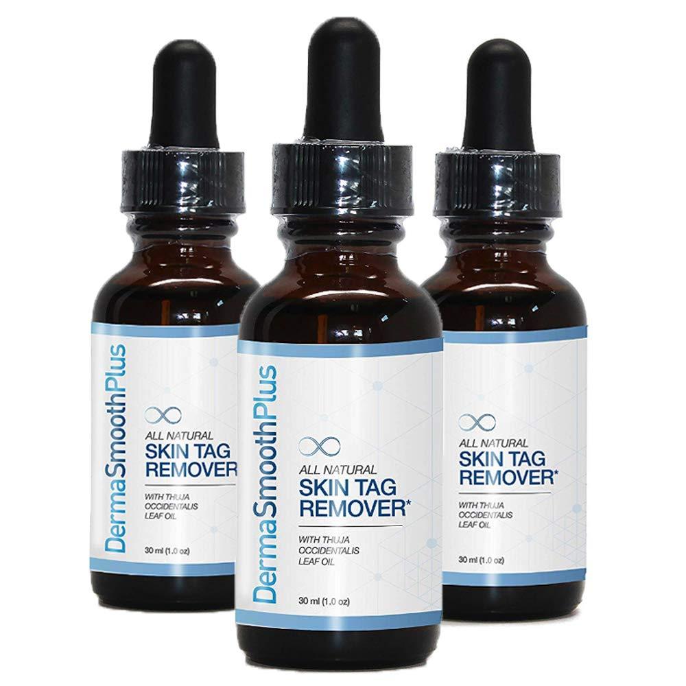 DermaSmooth Plus Triple Pack - Advanced Skin tag Remover serum, Skin