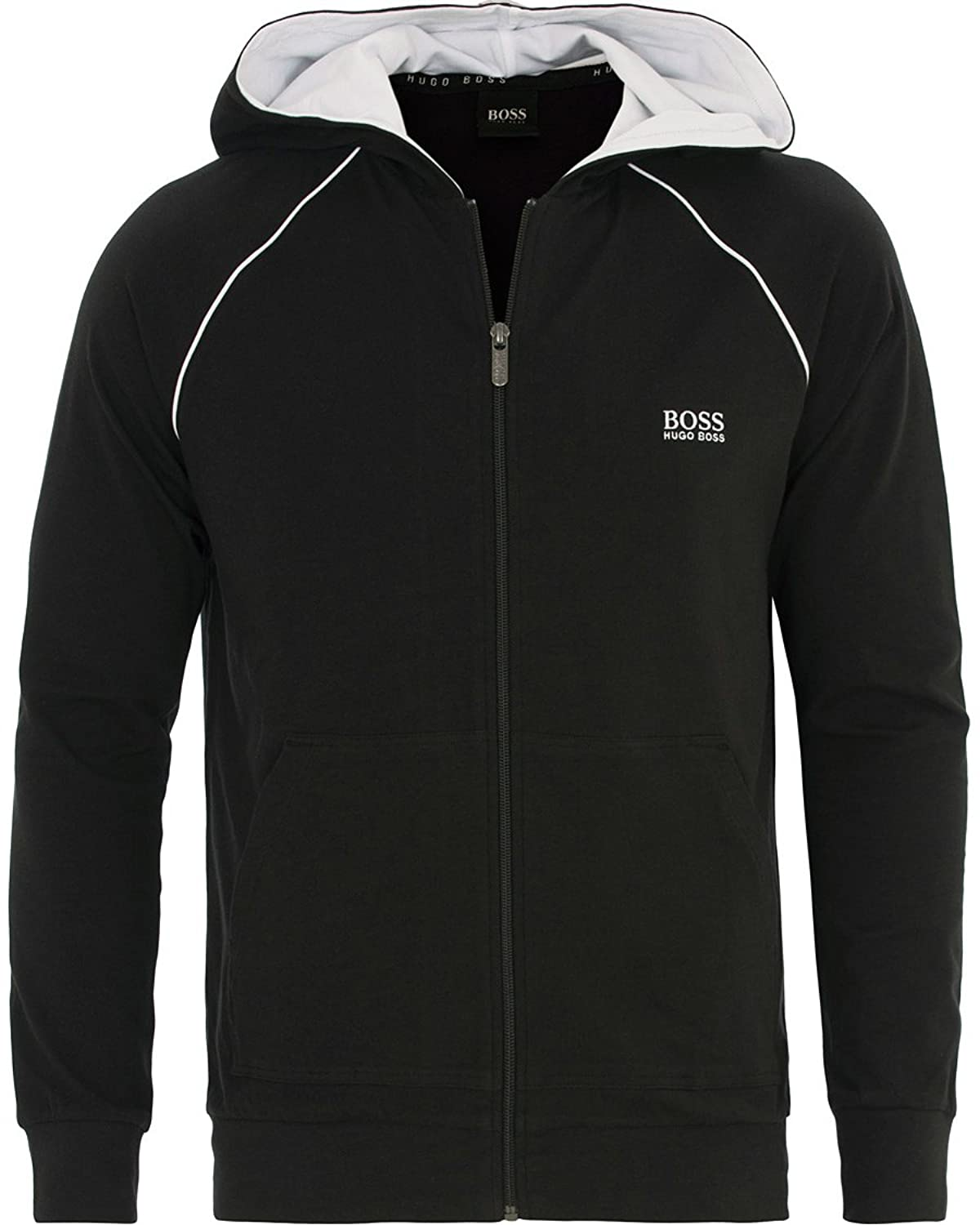 c6a7699d730 Hugo Boss Men Mix   Match Black Track Suit at Amazon Men s Clothing store