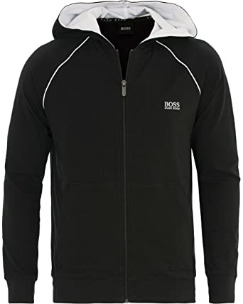 49cf42016 Hugo Boss Men Mix & Match Black Track Suit at Amazon Men's Clothing ...
