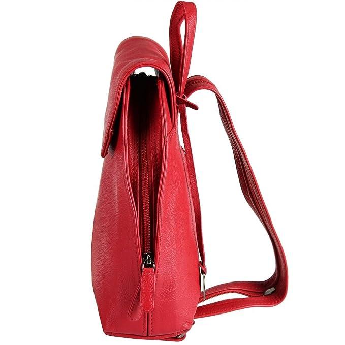 f9007b76d5527 Maestro Cosmopolitan Damen City-Rucksack Leder 24 cm  Amazon.de  Koffer