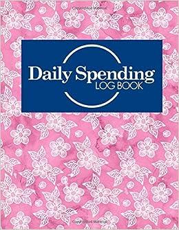 daily spending log book business expense ledger expense management