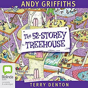 The 52-Storey Treehouse Audiobook