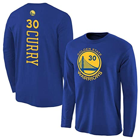 NBA Camiseta Larga para Hombre Golden State Warriors Logo ...