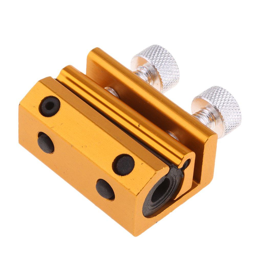 MagiDeal Cable Doble Luber Abrazadera Lubricador de Engrasador Vehí culos - Azul