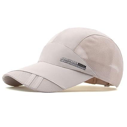 Tentock Quick-Drying Breathable Summer Mesh Cap Sport Headwear Adjustable  Baseball Cap Summer Hat for 8bcfd9cf9eee