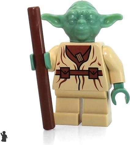 Yoda with Staff 75208 LEGO Star Wars Minifigure from Yodas Hut