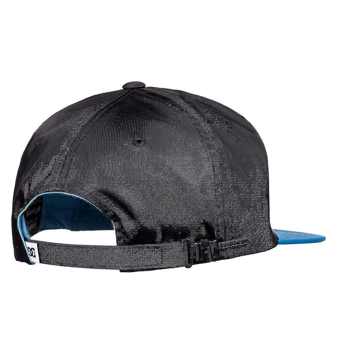 DC Gorras Crockeye White/Black/Blue Snapback: Amazon.es: Ropa y accesorios
