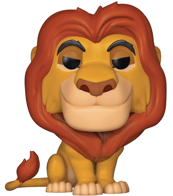 Funko Disney: The Lion King Includes Compatible Pop Box Protector Case Mufasa Pop Vinyl Figure