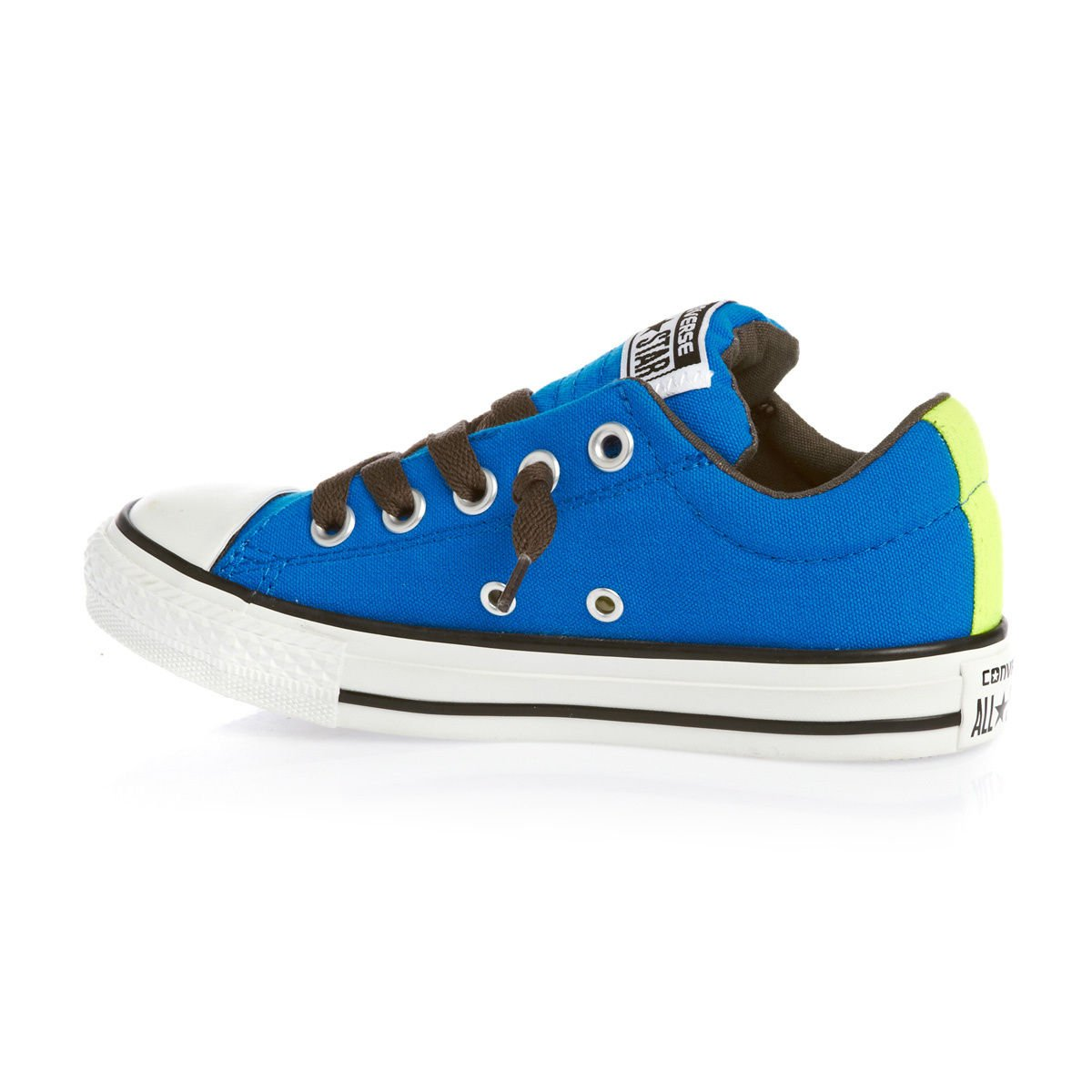 b643f42a9f2974 Converse Chuck Taylor All Star Street Shoes - Electric Blue Lemonade  Electric Yellow  Amazon.co.uk  Shoes   Bags
