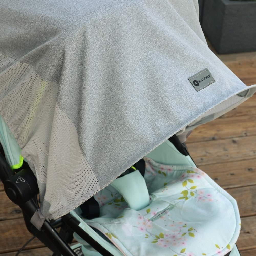 ROLLERSY SUN-BG colore Grigio Parasole per passeggino