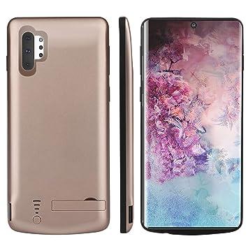 Forhouse Funda Batería para Samsung Galaxy Note 10 Plus, Carcasa Cargador 5000mAh de Batería Externa Recargable Portátil Carga Caso de Prueba de ...