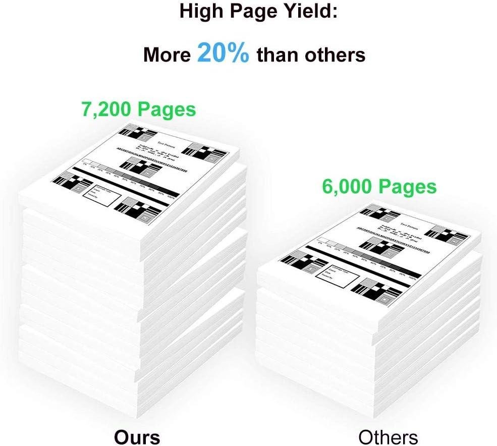 Compatible High Yield TK172 TK-172 Laser Printer Cartridge use for Kyocera Mita P2135D 3-Pack Black P2135DN Printer