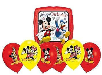 Amscan Micky Maus Geburtstag Luftballons Dekoration Set Happy