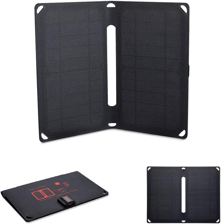 Voltaic Systems - Arc 10 Watt USB Solar Charger | Powers Phones, Tablets, More | Charges Your Device as Fast as at Home