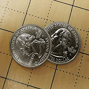 Double Sided Quarter - Two Headed Coin by Sasco Precision Coins