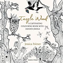 Enter the calming and beautiful, magical world of illustrator and papercutter, Jessica Palmer.Jessica has created 80 pages of enchanting hand-drawn pictures for you to color and lose yourself in. The images all have a magical woodland...