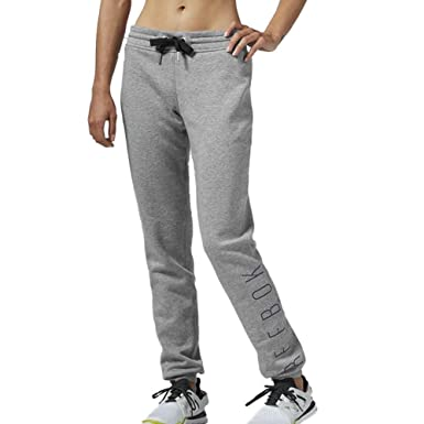 96918c38773 Reebok Womens Grey SSG Sweat Pants Tracksuit Trousers Joggers Jogging  Bottoms: Amazon.co.uk: Clothing
