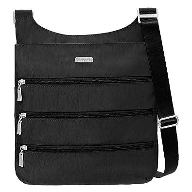 Baggallini Multi Pocket Triple Zip Crossbody Utility Purse  Handbags ...