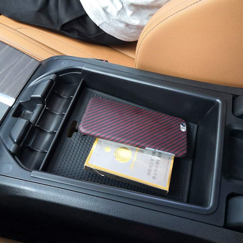 MAVMAX para X3 G01 2018-2019 A/ño Accesorios Car Negro Reposabrazos Caja de Almacenamiento Bandeja para tel/éfono