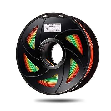LIU-SHUNBAOAS PLA Cambio de Color del Arco Iris 3D Material de ...