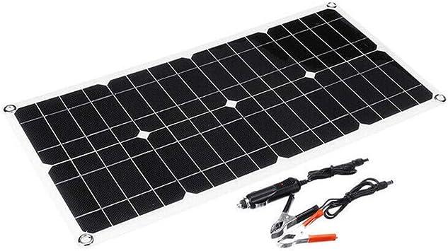 DASEXY Dual USB Cell 50W 18V Panel de batería Solar ...
