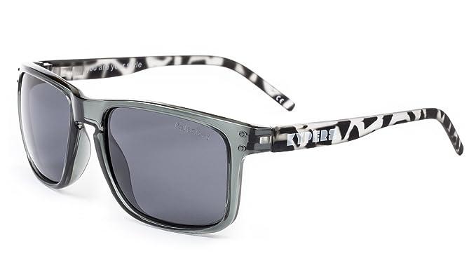 KYPERS Coconut, Gafas de Sol Unisex, Clear Grey-Black, 57 ...