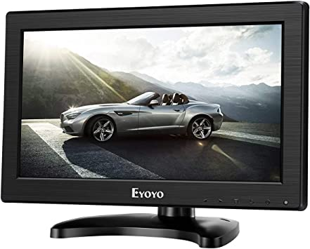 Eyoyo 11.6 Pulgadas Monitor LCD Pantalla (16: 9,1366 * 768, 350cd / ㎡,IPS,VGA, BNC, HDMI,TV,AV, 600:1) (11.6 Inch 1366 * 768): Amazon.es: Electrónica